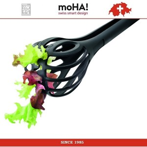 Антипригарный инструмент MIX and SERVE 3 в 1: венчик, щипцы и шумовка, MOHA, арт. 78363, фото 5