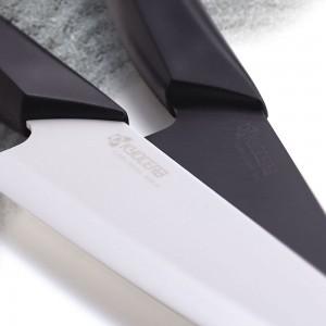 Нож универсальный 13 см, керамика, серия Series Black&White;, KYOCERA, Япония, арт. 1885, фото 4