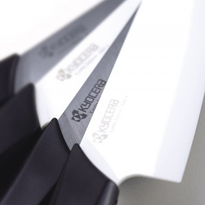 Нож поварской 18 см, керамика, серия Series Black&White;, KYOCERA, Япония, арт. 1888, фото 5