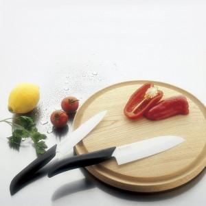 Набор ножей, 2 предмета, керамика, серия Series Black&White;, KYOCERA, Япония, арт. 1882, фото 3