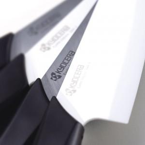 Набор ножей, 2 предмета, керамика, серия Series Black&White;, KYOCERA, Япония, арт. 1882, фото 5