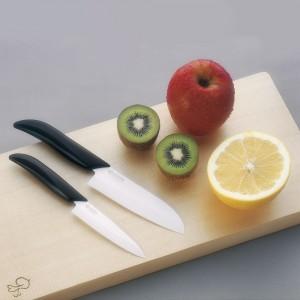 Набор ножей, 2 предмета, керамика, серия Series Black&White;, KYOCERA, Япония, арт. 1882, фото 4