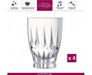 Набор высоких бокалов Ornements, 4 шт, 280 мл, Cristal D'arques, Франция
