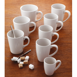 Чашка чайная «Simplicity White», 300 мл, D 10,5 см, H 7,5 см, фарфор, Steelite, Великобритания, арт. 9656, фото 6