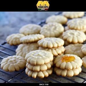 Шприц Biscotto для печенья, 20 насадок, цвет красный, Marcato, Италия, арт. 24366, фото 7