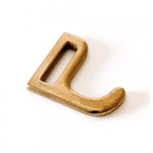 Держатель для навески 90 см и 5 крючков, латунь, серия M'plus, MAUVIEL, Франция, арт. 2070, фото 3