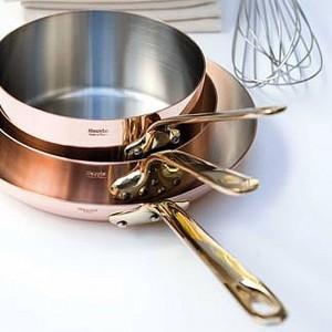 Сковорода, dia 22 см, h 3,5 см, медь, серия M'heritage, MAUVIEL, Франция, арт. 2106, фото 6