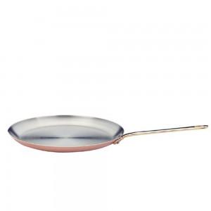 Сковорода блинная, dia 26 см, h 2,5 см, медь, серия M'heritage, MAUVIEL, Франция, арт. 2137, фото 2