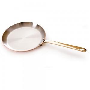 Сковорода блинная, dia 26 см, h 2,5 см, медь, серия M'heritage, MAUVIEL, Франция, арт. 2137, фото 4