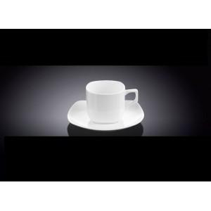 Кофейная пара, V 90 мл, фарфор, серия Wilmax, Wilmax, Англия, арт. 47930, фото 1