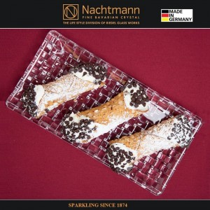 Блюдо для закусок, L 28 см, W 14 см, бессвинцовый хрусталь, серия BOSSA NOVA, Nachtmann, Германия, арт. 16089, фото 4