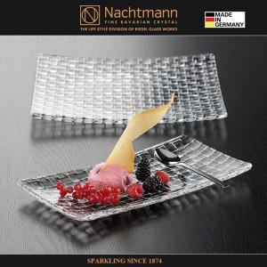 Блюдо для закусок, L 28 см, W 14 см, бессвинцовый хрусталь, серия BOSSA NOVA, Nachtmann, Германия, арт. 16089, фото 2
