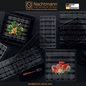 Блюдо SQUARE, 28 х 14 см, бессвинцовый хрусталь, Nachtmann, Германия, арт. 88855, фото 3