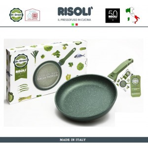 Антипригарная сковорода Dr.Green, D 32 см, Risoli, Италия, арт. 89288, фото 2