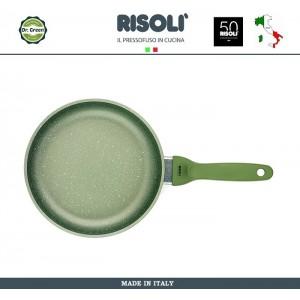 Сковорода Dr.Green, D 20 см, алюминий литой, антипригарное покрытие GREENSTONE®, Risoli, Италия, арт. 48481, фото 1