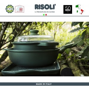 Антипригарная сковорода Dr.Green, D 32 см, Risoli, Италия, арт. 89288, фото 8