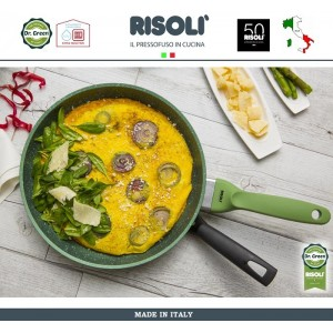 Антипригарная сковорода Dr.Green, D 32 см, Risoli, Италия, арт. 89288, фото 5