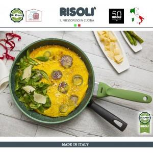 Сковорода Dr.Green, D 20 см, алюминий литой, антипригарное покрытие GREENSTONE®, Risoli, Италия, арт. 48481, фото 5