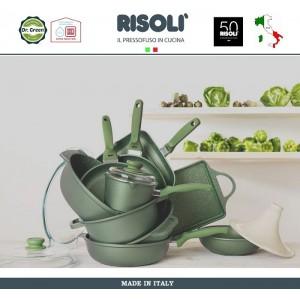Сковорода Dr.Green, D 20 см, алюминий литой, антипригарное покрытие GREENSTONE®, Risoli, Италия, арт. 48481, фото 6