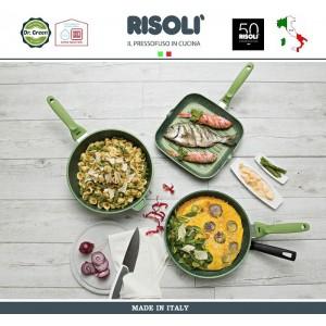 Сковорода Dr.Green, D 20 см, алюминий литой, антипригарное покрытие GREENSTONE®, Risoli, Италия, арт. 48481, фото 7