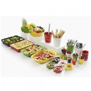 Кокотница Happy Cuisine, 190 мл, фарфор жаропрочный, зеленый, REVOL, Франция, арт. 2500, фото 5