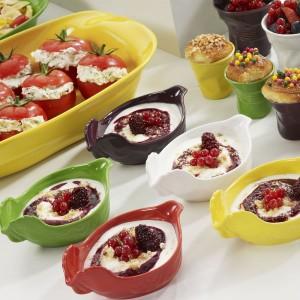 Блюдо вдля запекания и подачи, 2 л, 34x22х7 см, цвет красный, фарфор, серия Happy cuisine, REVOL, Франция, арт. 2501, фото 5