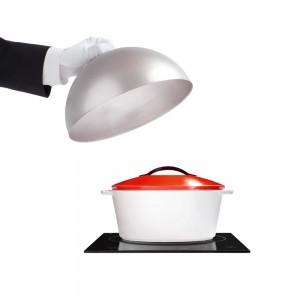 Кастрюля керамическая Revolution, 3.4 л, для любых плит и духовки, красный, REVOL, Франция, арт. 2531, фото 3