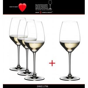 Набор бокалов для белых и красных вин Riesling и Sauvignon Blanc, 4 шт, объем 460 мл, машинная выдувка, Heart to Heart, RIEDEL, арт. 87577, фото 2