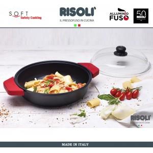 Антипригарный литой сотейник Soft Safety Cooking, D 26 см, Risoli, Италия, арт. 89298, фото 2
