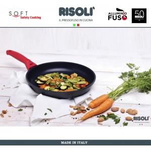 Антипригарный литой сотейник Soft Safety Cooking, D 26 см, Risoli, Италия, арт. 89298, фото 3