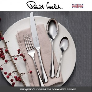 Большой набор столовых приборов Radford Bright, 84 предмета на 12 персон, ROBERT WELCH, Великобритания, арт. 2338, фото 3