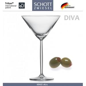 Набор бокалов DIVA для коктейлей, мартини, 251 мл, 6 шт, SCHOTT ZWIESEL, Германия, арт. 2724, фото 2