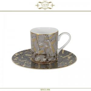 Кофейный набор Mokko, на 6 персон, по 100 мл, костяной фарфор, Naomi, арт. 65969, фото 2