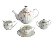 Чайный сервиз из 15 предметов на 6 персон Флёр, Colombo, Шри Ланка