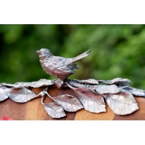 Салатник, ручная работа, дерево, D 40 см, серия Song Bird, Vagabond House, США, арт. 22455, фото 2