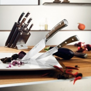Набор ножей 6 предметов в подставке, серия Ikon, WUESTHOF, Золинген, Германия, арт. 3178, фото 3