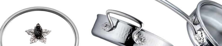 Кастрюля ручной работы, 6 л, D 24 см, сталь 18/10, серия Omegna, RUFFONI, Италия