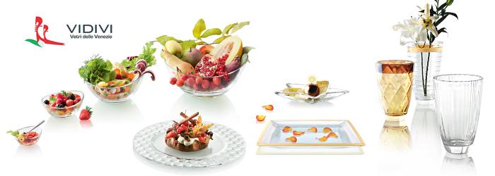 Салатник, D 13,5 см, H 7 см, стекло, серия Honey, Vidivi, Италия
