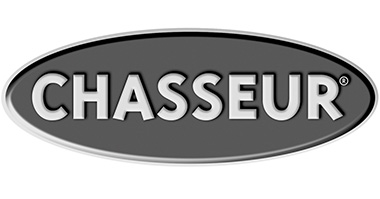 Гриль-противень чугунный, черная эмаль, D 24 см, серия BLACK, CHASSEUR, Франция