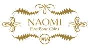 Кофейный набор Zlata, на 6 персон, по 100 мл, костяной фарфор, Naomi