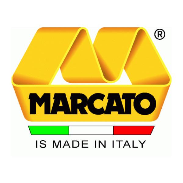 Шприц Biscotto для печенья, 20 насадок, цвет синий, Marcato, Италия
