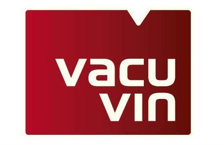 Аксессуары для вина: вакуумный насос Concerto черный, 4 вакуумные пробки, Vacu Vin, Нидерланды
