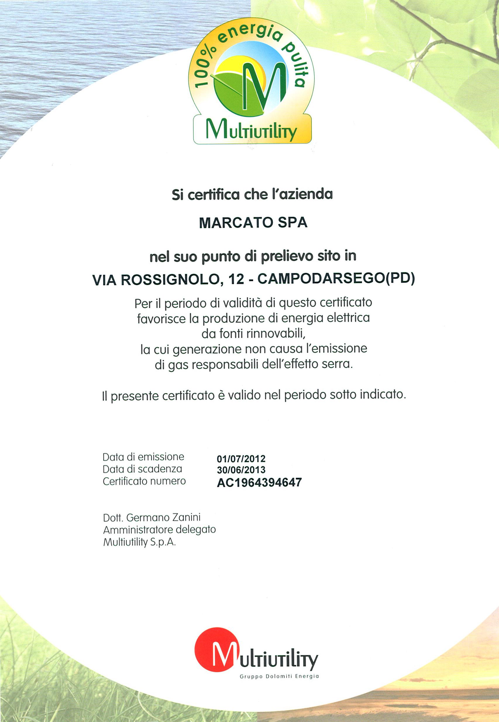 Лапшерезка Ampia 180, Marcato, Италия