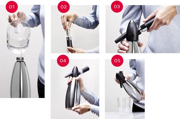 Сифон для содовой, 1 л, алюминий пищевой, пластик, Isi, Австрия