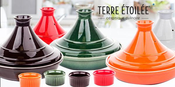 Тажин, D 28 см, 2 л, цвет серый, керамика жаропрочная, серия Terre a feu, TERRE ETOILEE, Франция