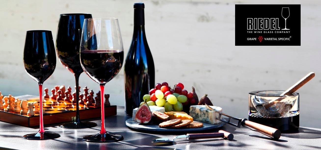 Бокалы для красного вина Cabernet, 2 шт, объем  819 мл, H 26 см, хрустальное стекло, серия Vitis, Riedel, Австрия