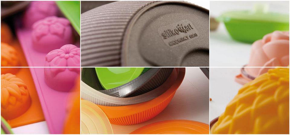 Рукавица-прихватка, L 27 см, 14 см, силикон, цвет оранжевый, серия Marty for Party, SILIKOMART, Италия